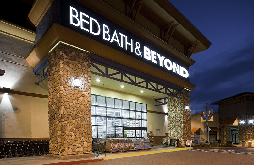 Bed bath and Beyond entrance